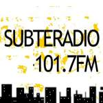 Logo da emissora Radio Subteradio 101.7 FM