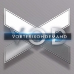 Logo da emissora Radio Vorterix 103.1 FM