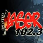 Logo da emissora Radio Láser 102.3 FM