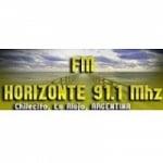 Logo da emissora Radio Horizonte 91.1 FM