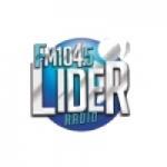 Logo da emissora Radio Lider 104.5 FM