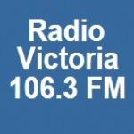 Logo da emissora Radio Victoria 106.3 FM