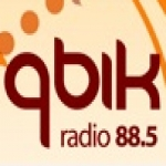 Logo da emissora Radio Qbik 88.5 FM