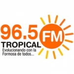 Logo da emissora Radio Tropical 96.5 FM