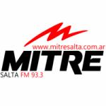 Logo da emissora Radio Mitre 93.3 FM