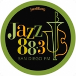 Logo da emissora Radio KSDS Jazz 88.3 FM