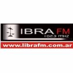 Logo da emissora Radio Libra 102.3 FM