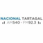 Logo da emissora Radio Nacional 540 AM 92.3 FM
