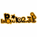 Logo da emissora Radio La Popu 102.3 FM