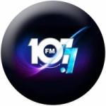 Logo da emissora Radio 107 PopLife 107.7 FM