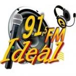 Logo da emissora Rádio Ideal 91.5 FM