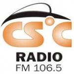 Logo da emissora Radio CSC 106.5 FM