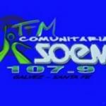 Logo da emissora Radio Soem Gálvez 107.9 FM