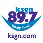 Logo da emissora Radio KSGN 89.7 FM