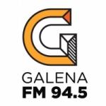 Logo da emissora Radio Galena 98.7 FM