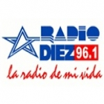 Logo da emissora Radio Diez 96.1 FM
