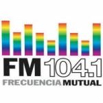 Logo da emissora Radio Frecuencia Mutual 104.1 FM