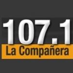 Logo da emissora Radio La Compañera 107.1 FM