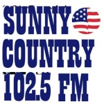 Logo da emissora KSLY 96.1 FM Sunny Country