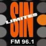 Logo da emissora Radio Sin Limites 96.1 FM