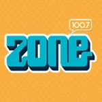 Logo da emissora Radio Zone 100.7 FM
