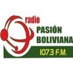 Logo da emissora Radio Pasion Boliviana 107.3 FM