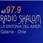 Logo da emissora Radio Shalom 97.9 FM