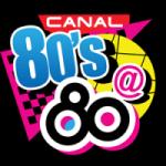 Logo da emissora Radio M 80 98.1 FM