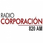 Logo da emissora Radio Corporación 820 AM