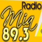 Logo da emissora Radio Mia 89.3 FM