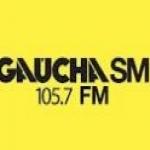 Logo da emissora R�dio Ga�cha 105.7 FM