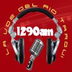 Logo da emissora Radio La Voz Del Rio Tarqui 1290 AM