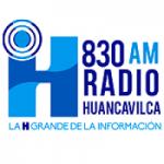 Logo da emissora Radio Huancavilca 830 AM