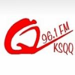 Logo da emissora Radio KSQQ 96.1 FM