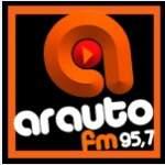 Logo da emissora R�dio Arauto 95.7 FM