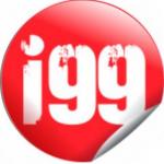 Logo da emissora Radio I99 98.9 FM