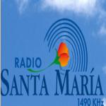 Logo da emissora Radio Santa Maria 1490 AM