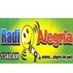 Logo da emissora Radio Alegria 1340 AM
