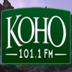 Logo da emissora KOHO 101.1 FM
