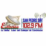 Logo da emissora Radio San Pedro Sat 102.9 FM