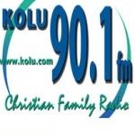 Logo da emissora KOLU 90.1 FM