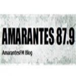 Logo da emissora R�dio Amarantes 87.9 FM