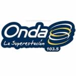 Logo da emissora Radio Onda 103.5 FM