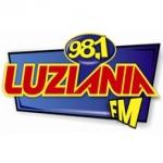 Logo da emissora R�dio Luzi�nia 98.1 FM