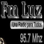 Logo da emissora Radio Luz 95.7 FM