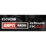 Logo da emissora Radio ESPN 102.7 FM
