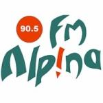 Logo da emissora Radio Alpina 90.5 FM