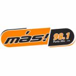 Logo da emissora Radio Más 98.1 FM