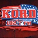Logo da emissora KORD 102.7 FM