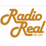 Logo da emissora Radio Real 100.1 FM